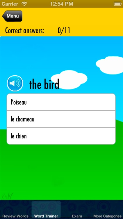 Learn French for Children: Help Kids Memorize Words - Free screenshot-3