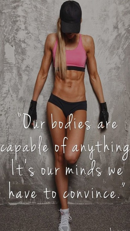 Female Body Fitness Motivation Pro screenshot-3