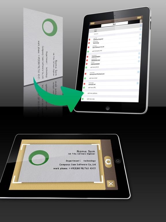 Screenshot #1 for SamCard HD Pro