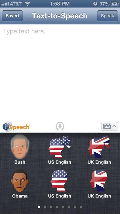 iSpeech Text To Speech Pro