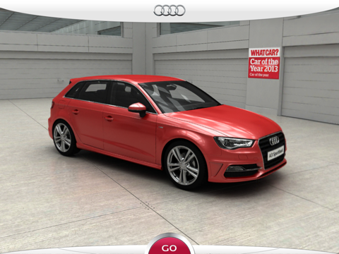 New Audi A3 screenshot one