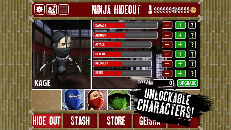 Finger Ninjas: Zombie Strike-Force screenshot-3