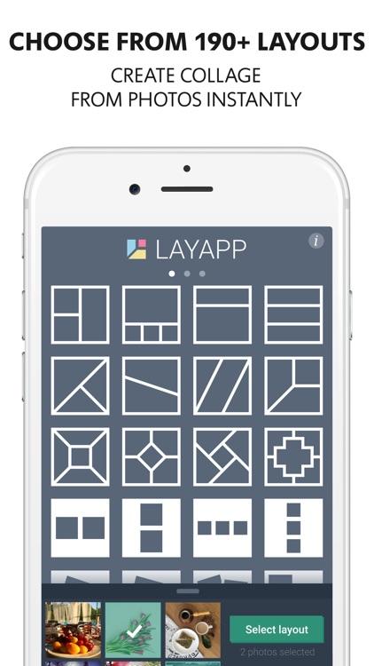 Layapp Pro – Collage Maker & Photo Editor screenshot-0