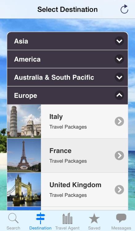 Etravel Connect - Travel Package Finder screenshot-3