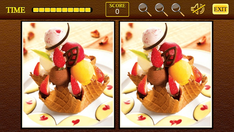 Find the differences Sweet Shop - Sweet Candy Shop + Cupcakes Birthday Deserts Photo Difference Edition Free Game screenshot-4