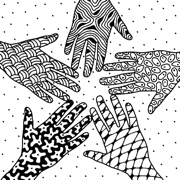 Doodling Together - a Collaborative Art Project