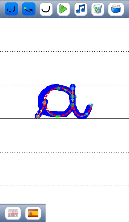 Learn to write cursive letters of the alphabet in upper ...
