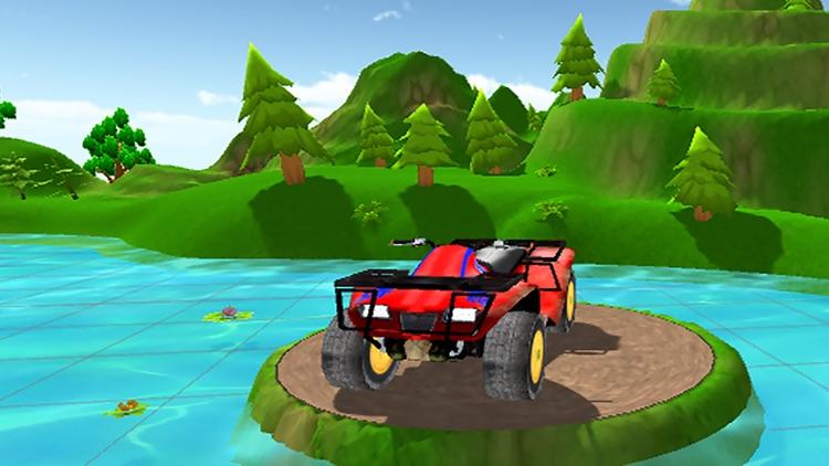 Cartoon Car Driving screenshot-3