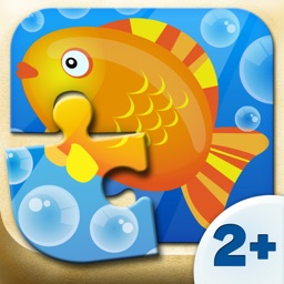 Toddler Games - Fish Puzzle (6 Parts) 2+