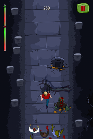 Zombie Monsters Night - Top Best Endless Free Chase Run Game screenshot three