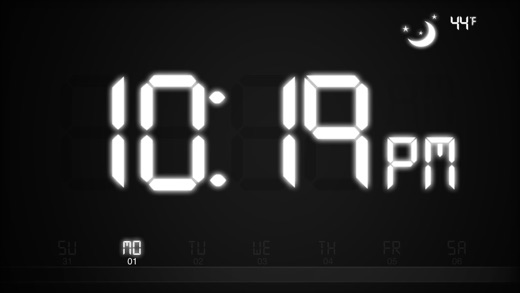 ChronoGrafik-Alarm Clock + Shake to Snooze Screenshot