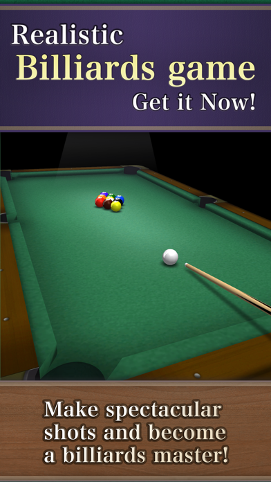 Billiards9 screenshot one