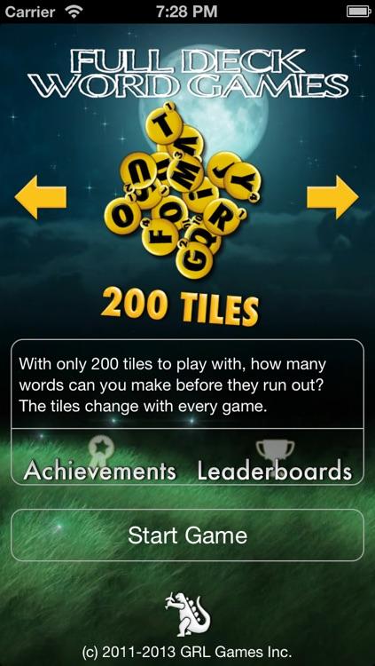 Full Deck Word Games screenshot-3