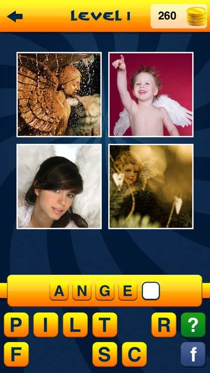 WordApp2 - 4 Pics, 1 Word, What's that word? second edition