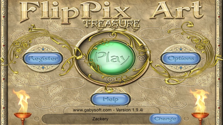 FlipPix Art - Treasure