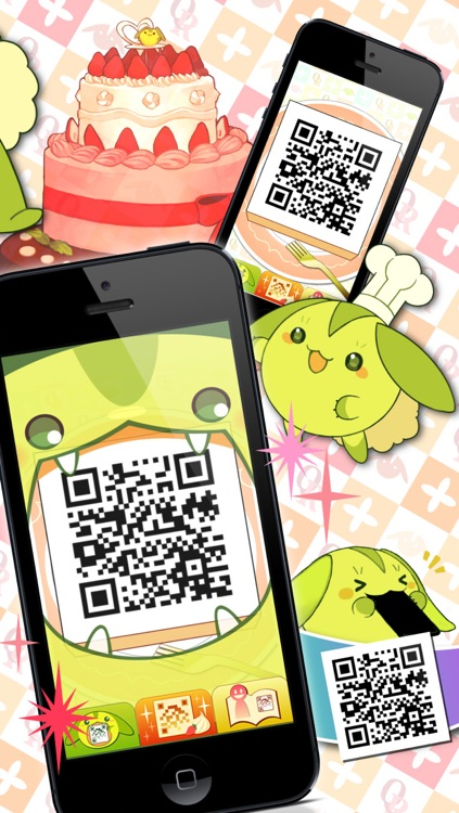 @QR [Kawaii QR Code Reader and Scanner for iPhone]