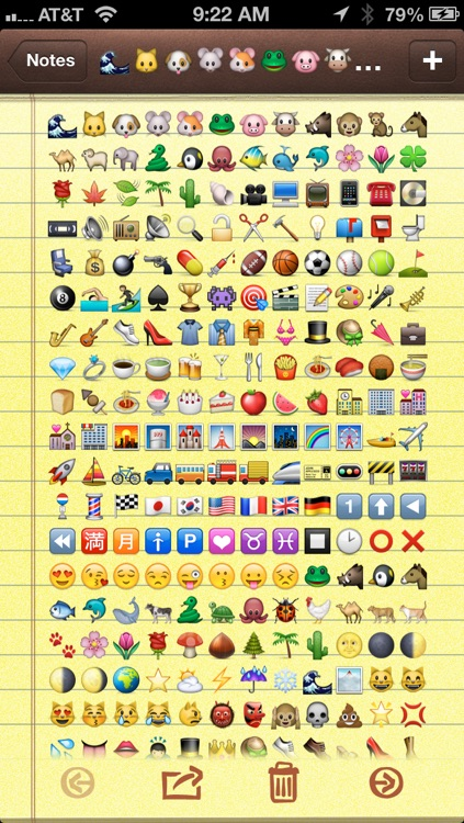 Emoji Characters and Smileys Free! screenshot-3