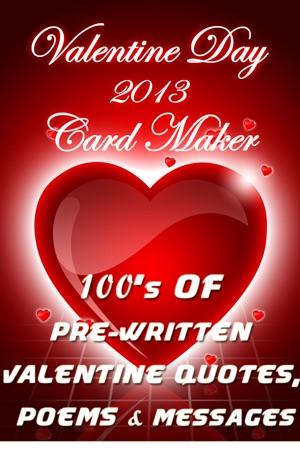 Valentine day 2013 love card maker wish happy valentine to him or iphone screenshots m4hsunfo