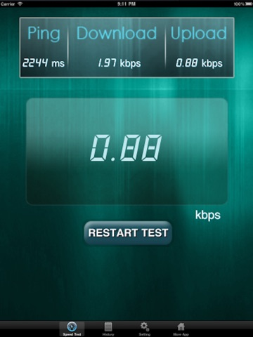 Net Speed Test Lite Скриншоты8