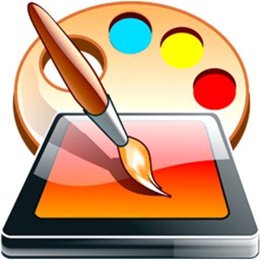Draw Color & Paint - Fun doodle sketching and picture brush painting iOS App
