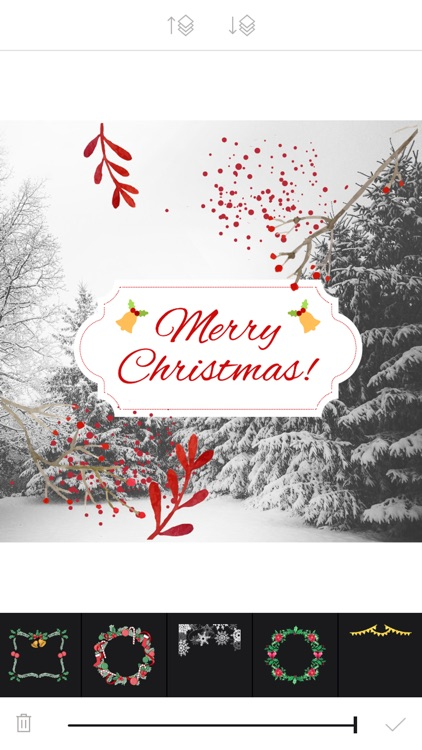 Xmas Cam - Christmas Stickers and Photo Frames