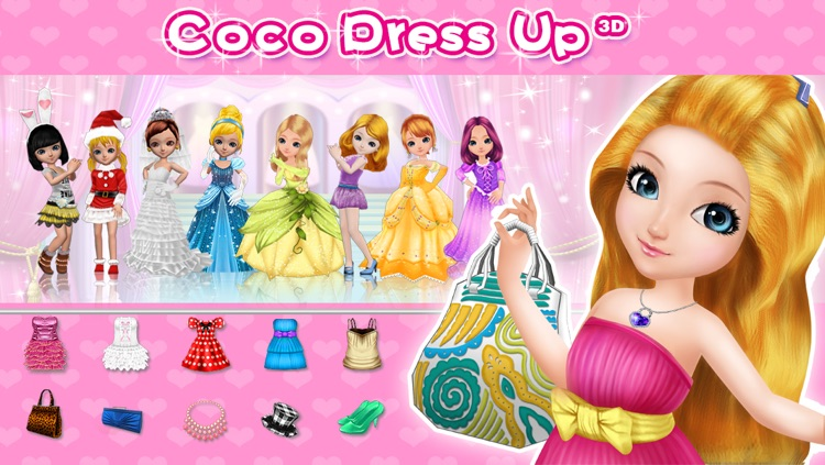 Coco Dress Up 3D screenshot-0