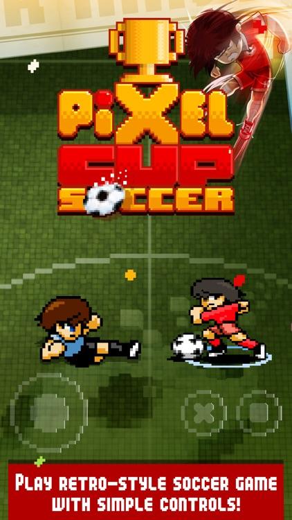 Pixel Cup Soccer screenshot-0