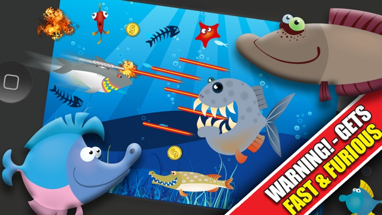 Shark Attacks! : The Fast Fish Underwater Shooting Game - By Dead Cool Apps screenshot-3
