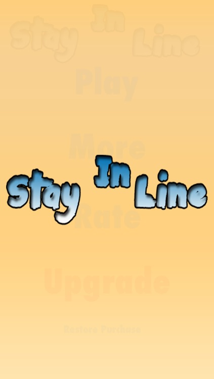 Stay In Line! - A One Finger Game screenshot-3