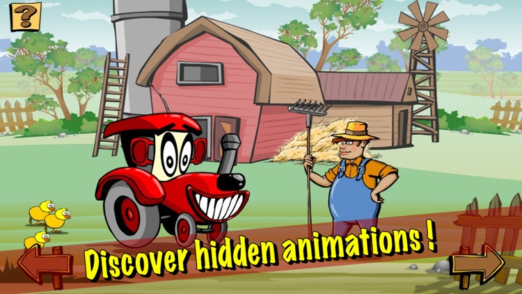 Ben the Tractor and the lost sheep LITE screenshot-3
