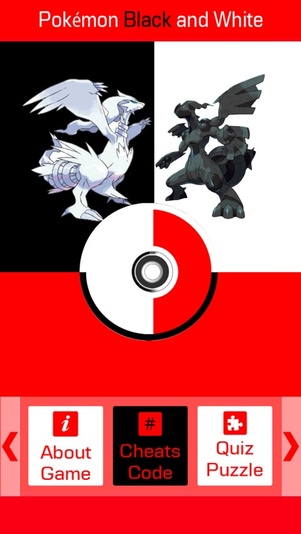 Cheats for Pokemon Black and White - Include All Videos, How to Play, Tips and Tricks screenshot-0
