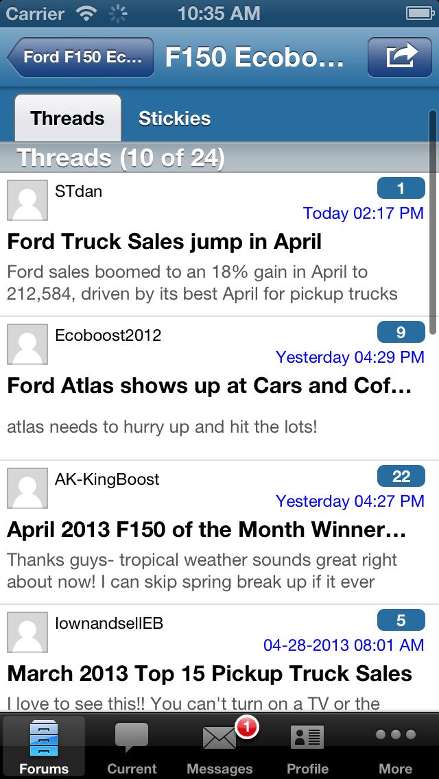 F150EcoBoost.net Forum screenshot three