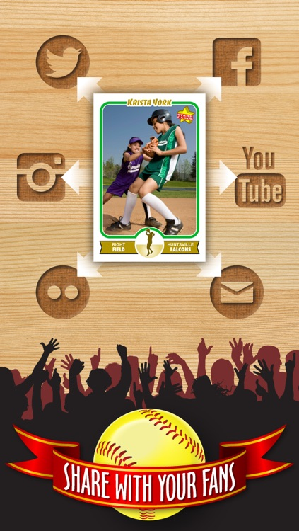 Softball Card Maker - Make Your Own Custom Softball Cards with Starr Cards screenshot-3