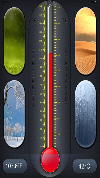 Celsius-Fahrenheit screenshot-3