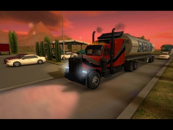 Truck Simulator 3D на iPad