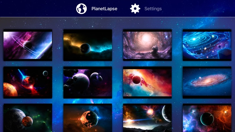 PlanetLapse Space