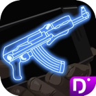 霓虹灯枪射击武器 icon