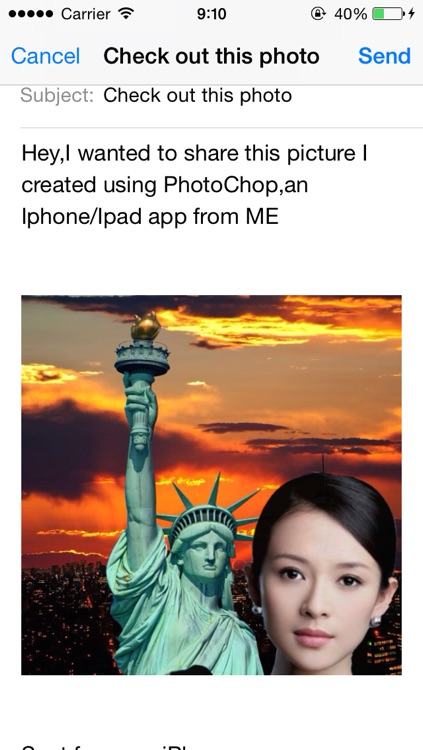 PhotoChop - Chop the part of photo, cut me in photo out to another photo of picture screenshot-3