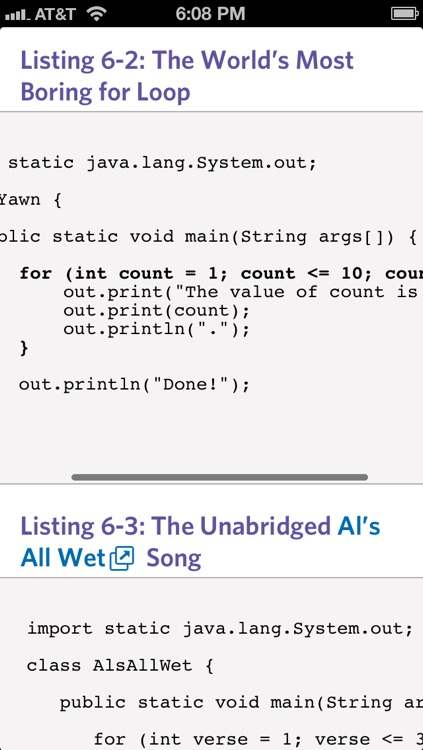 Java For Dummies - Official How To Book, Interactive Inkling Edition screenshot-3
