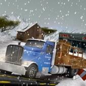 冬季公路卡车司机赶3D模拟器