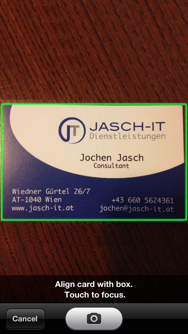 Card Collector (Business Card Organizer) - by JASCH-IT GmbH ...