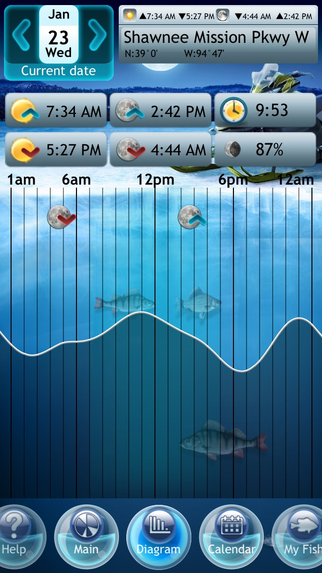Screenshot #6 for Winter Fishing Deluxe