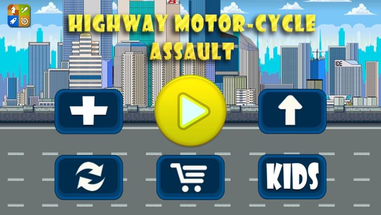 A Highway Motor-Cycle Enemy Assault : Super-Bike Shoot-ing Gun Strike Free