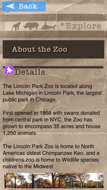 Zoo Explorer - Lincoln Park screenshot-4