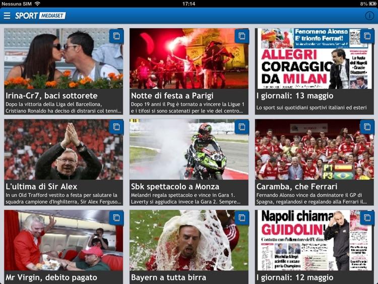 SPORT MEDIASET HD screenshot-3