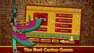 ファラオのスロットカジノ - エジプトの幸運な777トレジャーへの旅 - ラスベガススタイルのスクリーンショット2