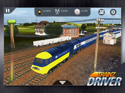 Trainz Driver - train driving game and realistic railroad simulatorのおすすめ画像3