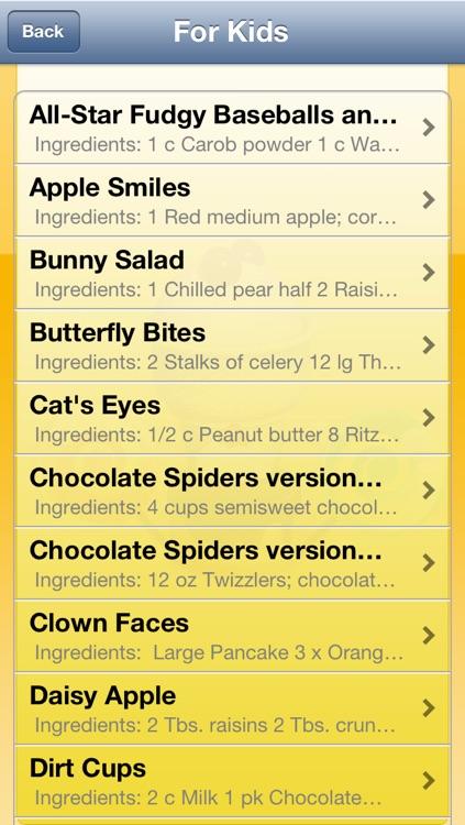 Dessert & Kids Recipes