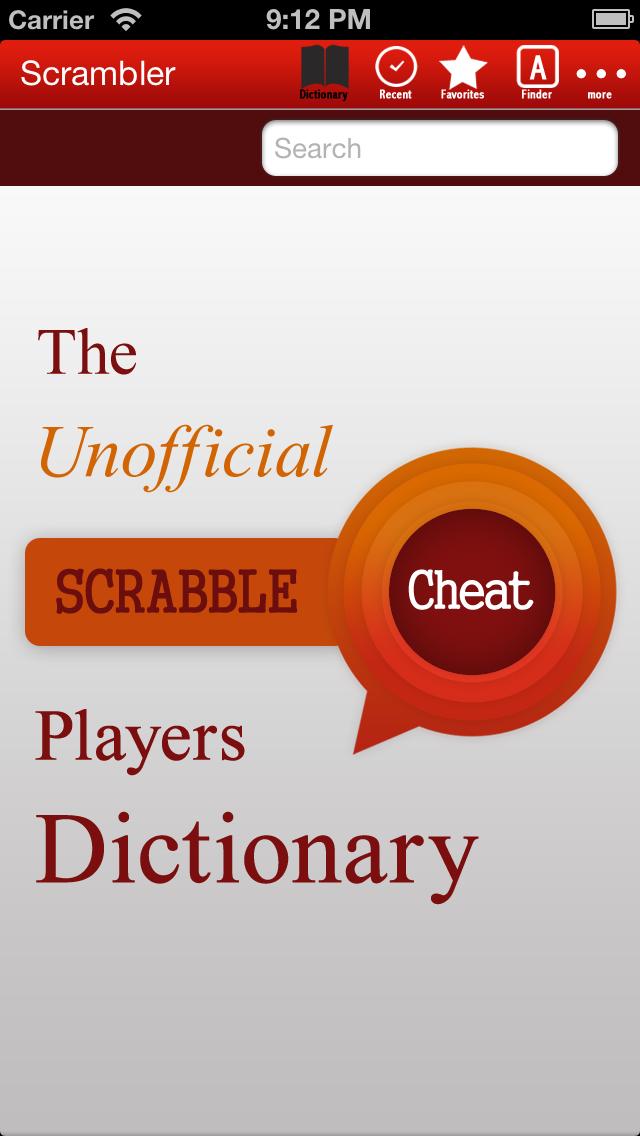 Scrambler - Ultimate Word Helper for SCRABBLE®, Words with