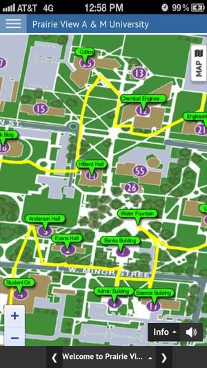 Prairie View Campus Map.Pvamu Virtual Tour On The App Store